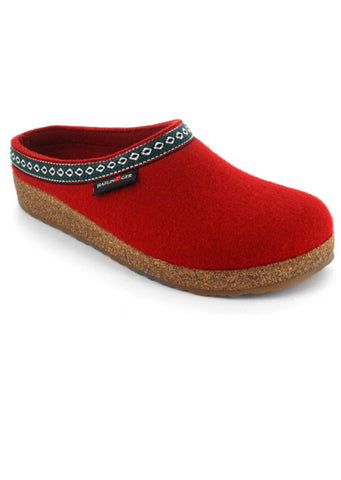 Haflinger Women's Franzl Slippers Chili