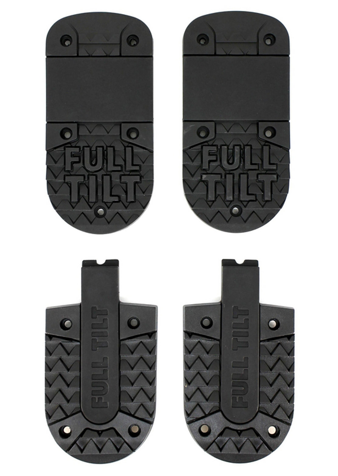 Fulltilt FTS Outsoles With Screws Black