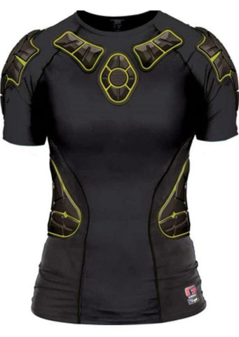 G-Form Women's Impact Shirt Short - Black/Yellow