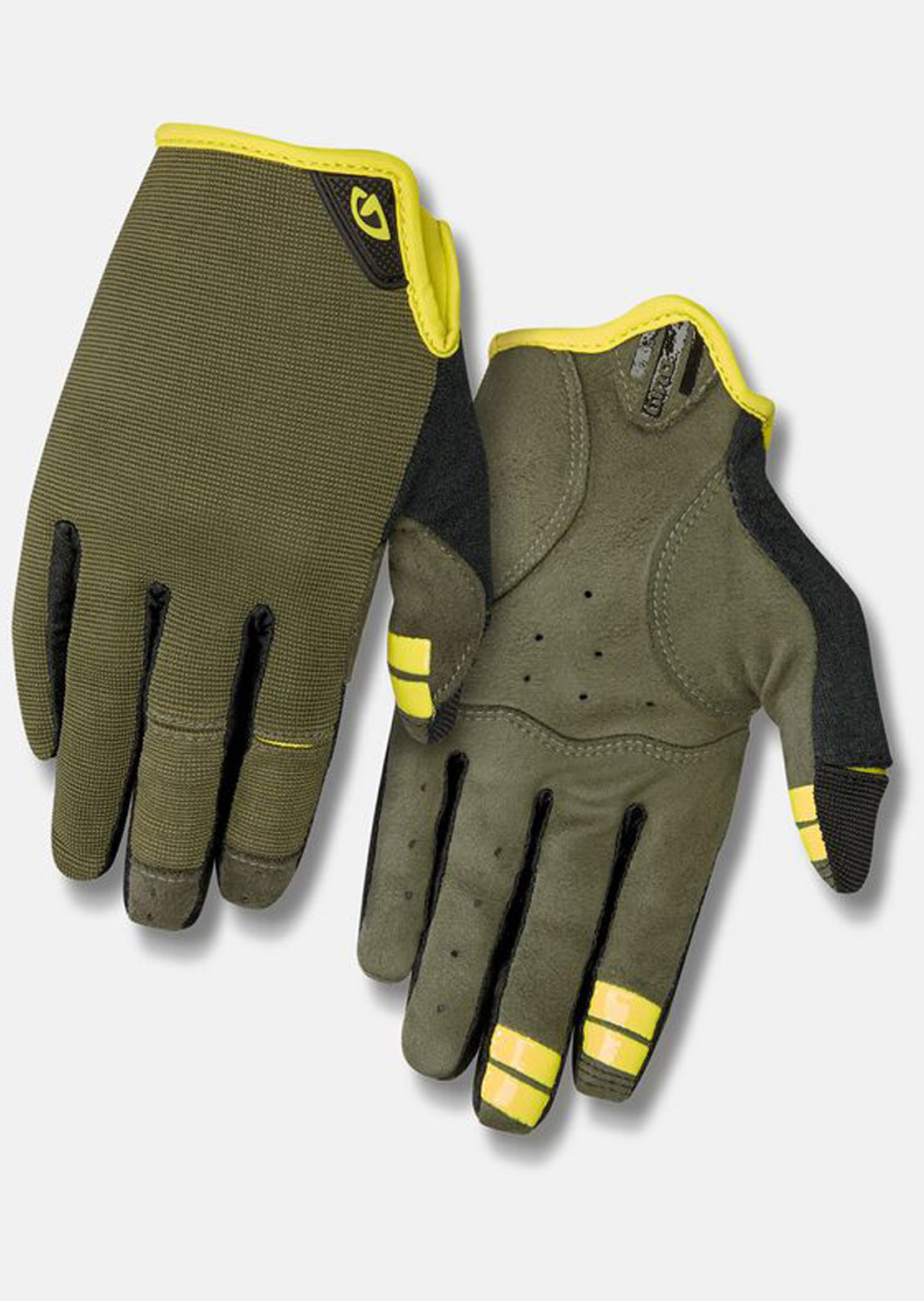 Giro Men's DND Bike Gloves Olive
