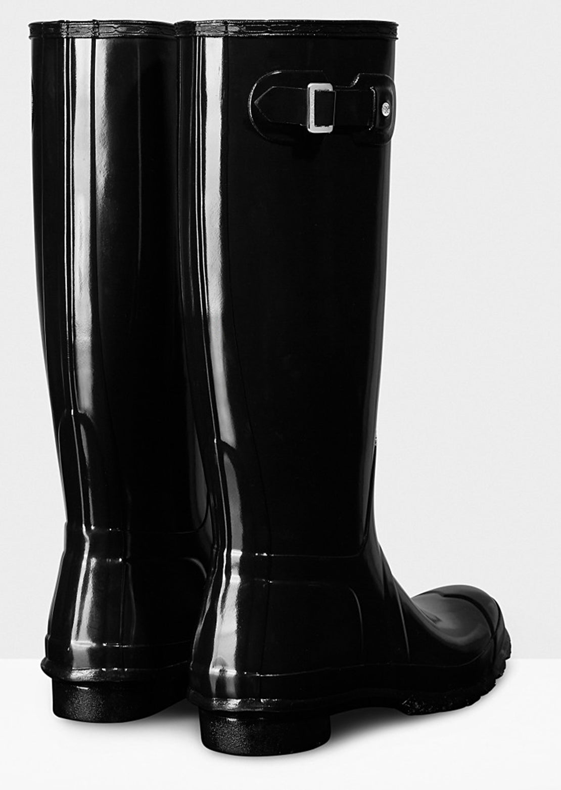 Hunter Women's Original Tall Gloss Boots - Back Side
