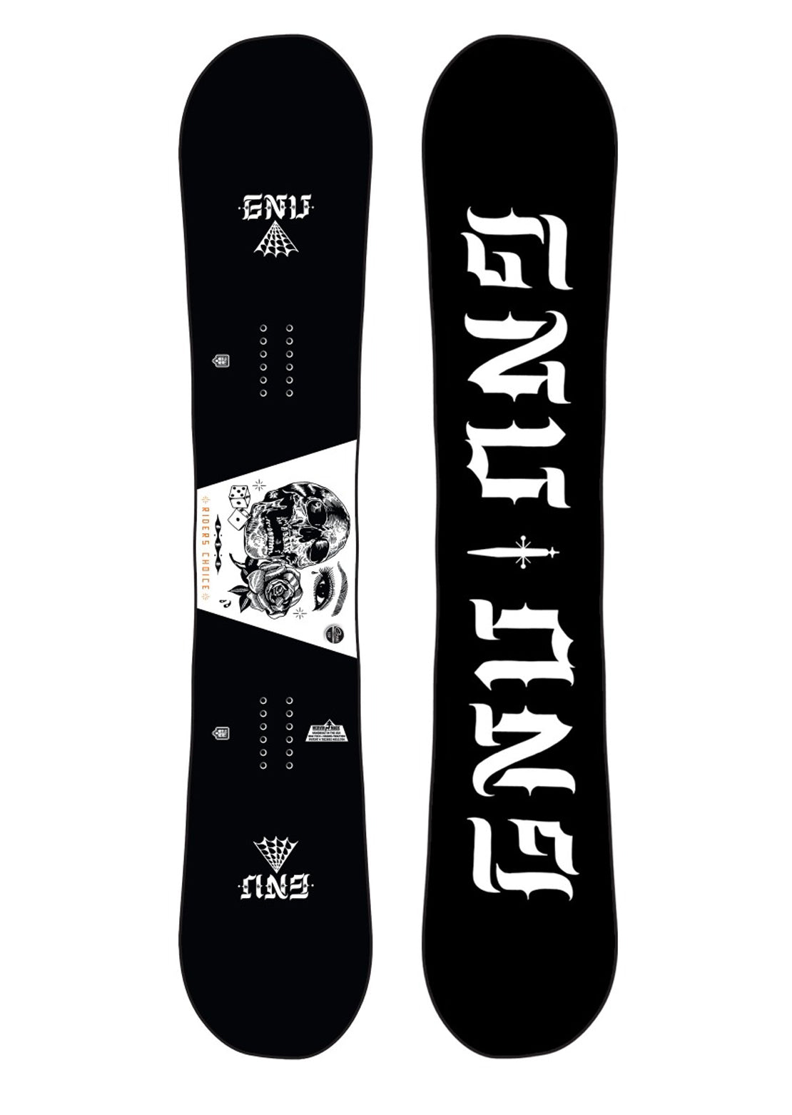 GNU Men's Asym Riders Choice C2X Snowboard - 157 cm
