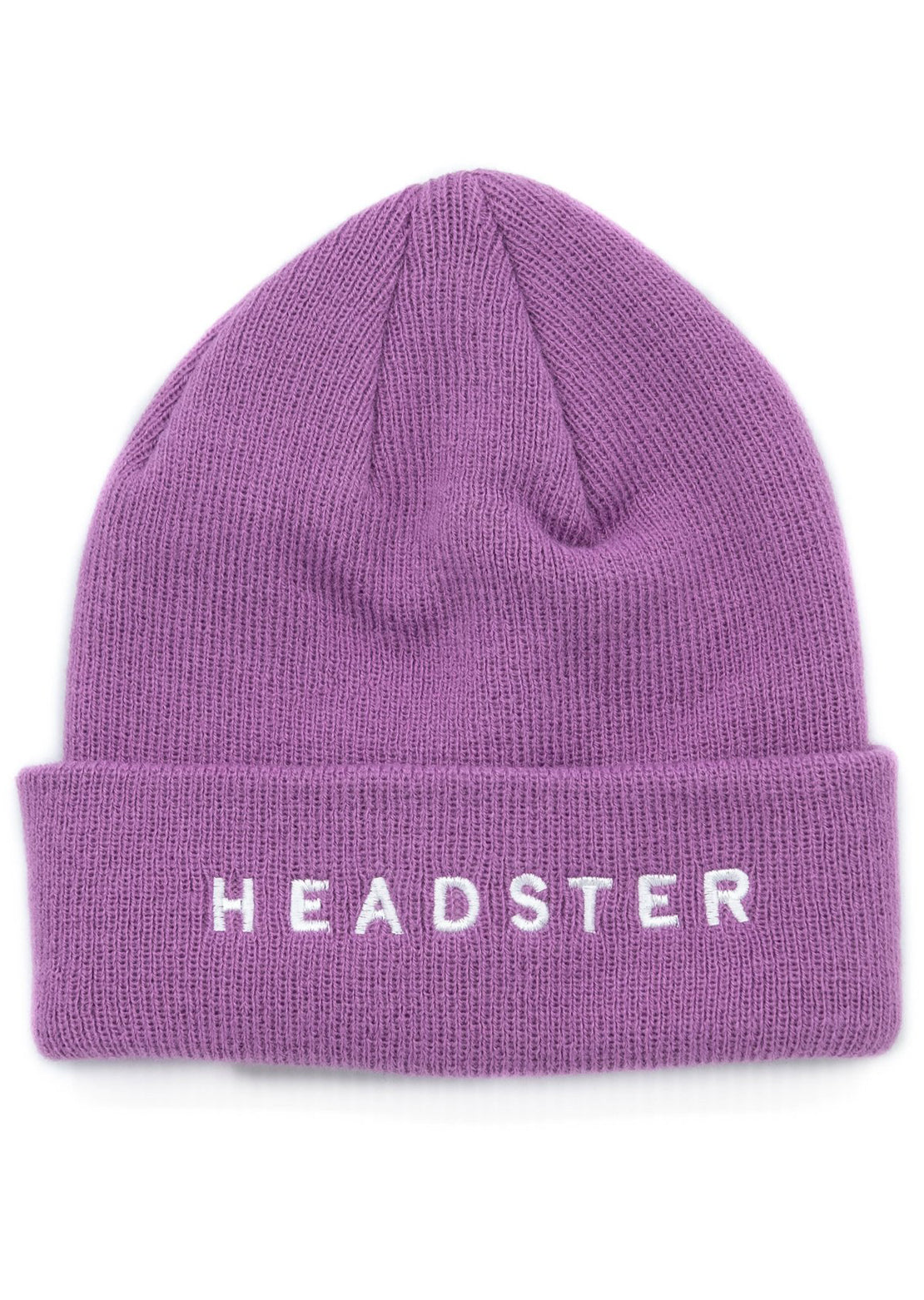 Headster Junior Solid Beanie Purple