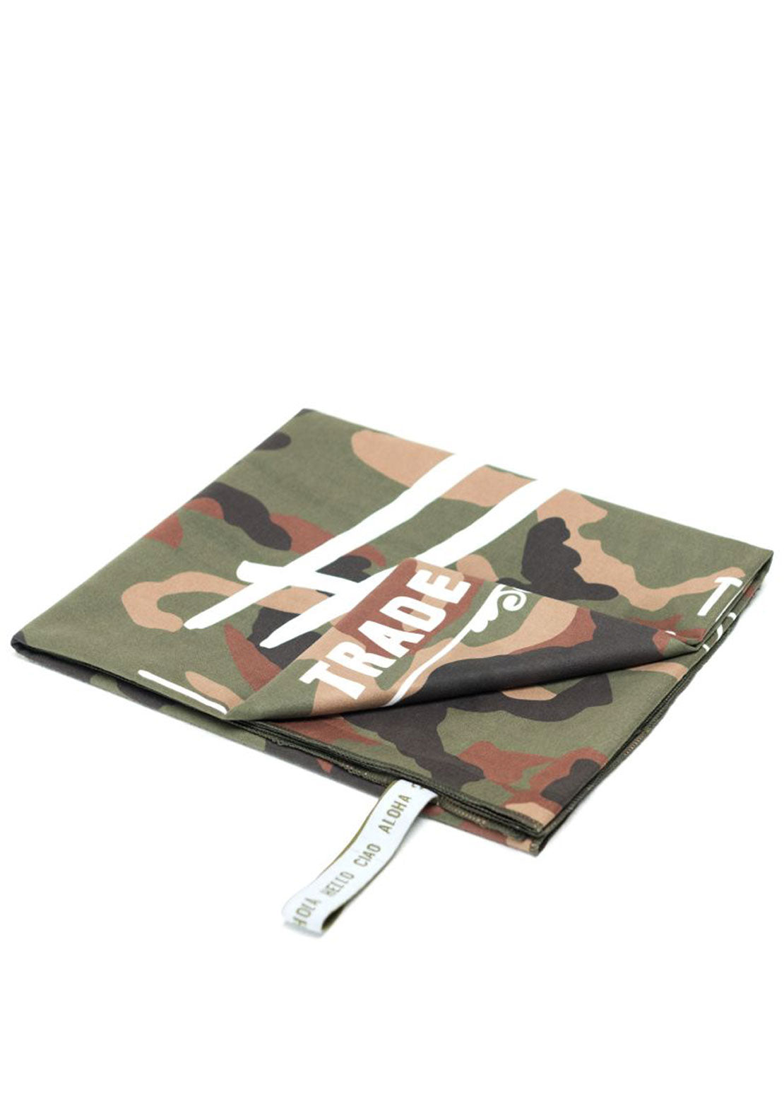Herschel Camp Towel Woodland Camo