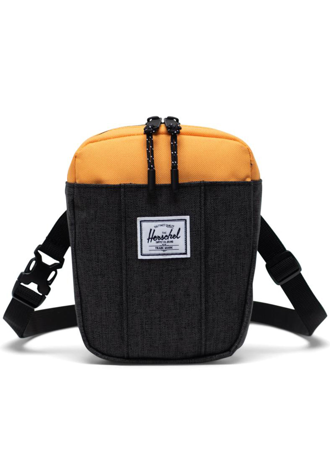 Herschel Cruz Crossbody Bag Crosshatch/Black/Blazing Orange