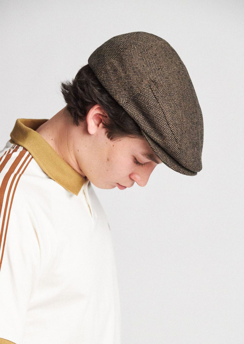 Brixton Men's Hooligan Hat Brown/Khaki