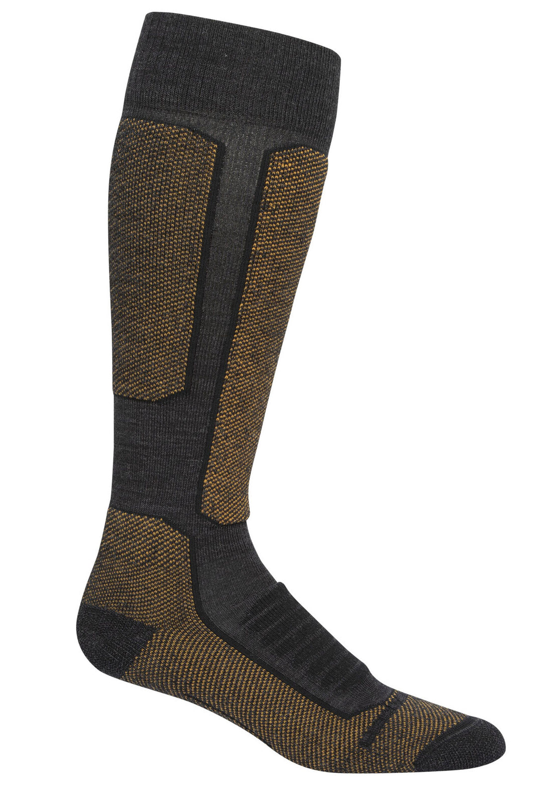 Icebreaker Men's Merino Ski+ Medium Over The Calf Socks Jet Heather/Cavern