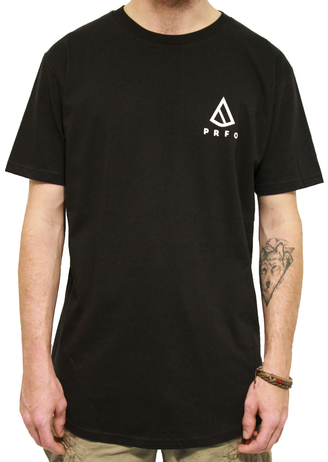 PRFO Icon Scallop T-Shirt Black