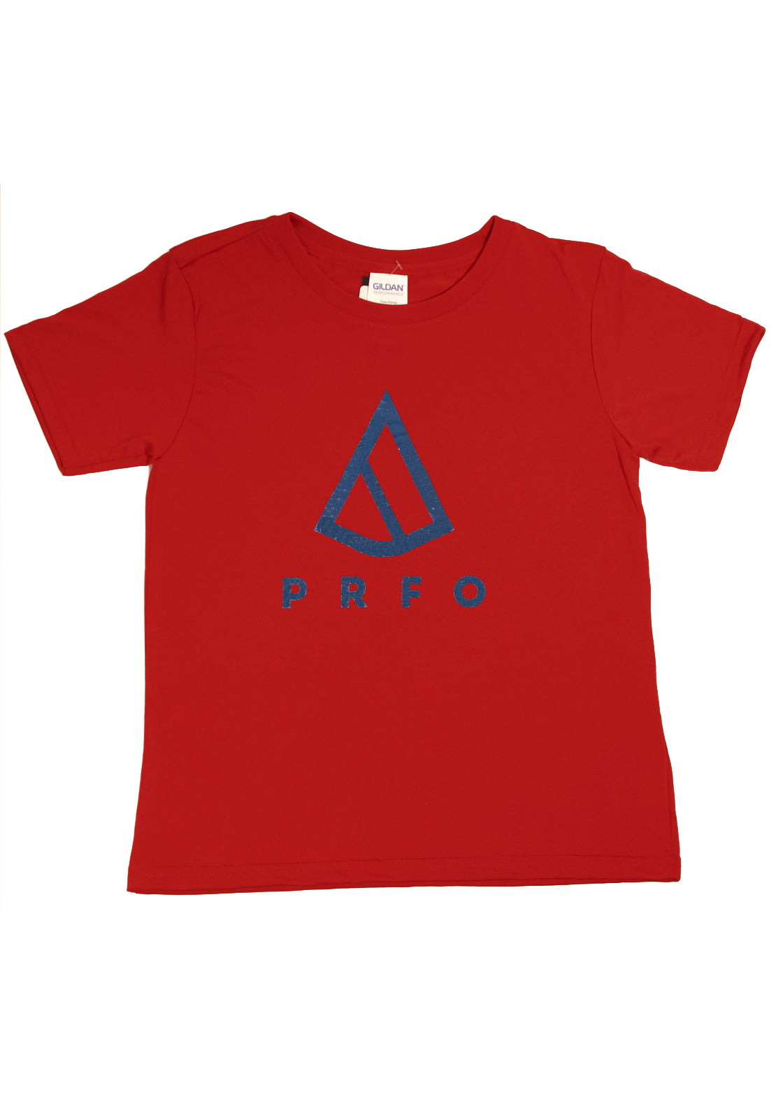 PRFO Junior Icon High Performance T-Shirt Red/Navy