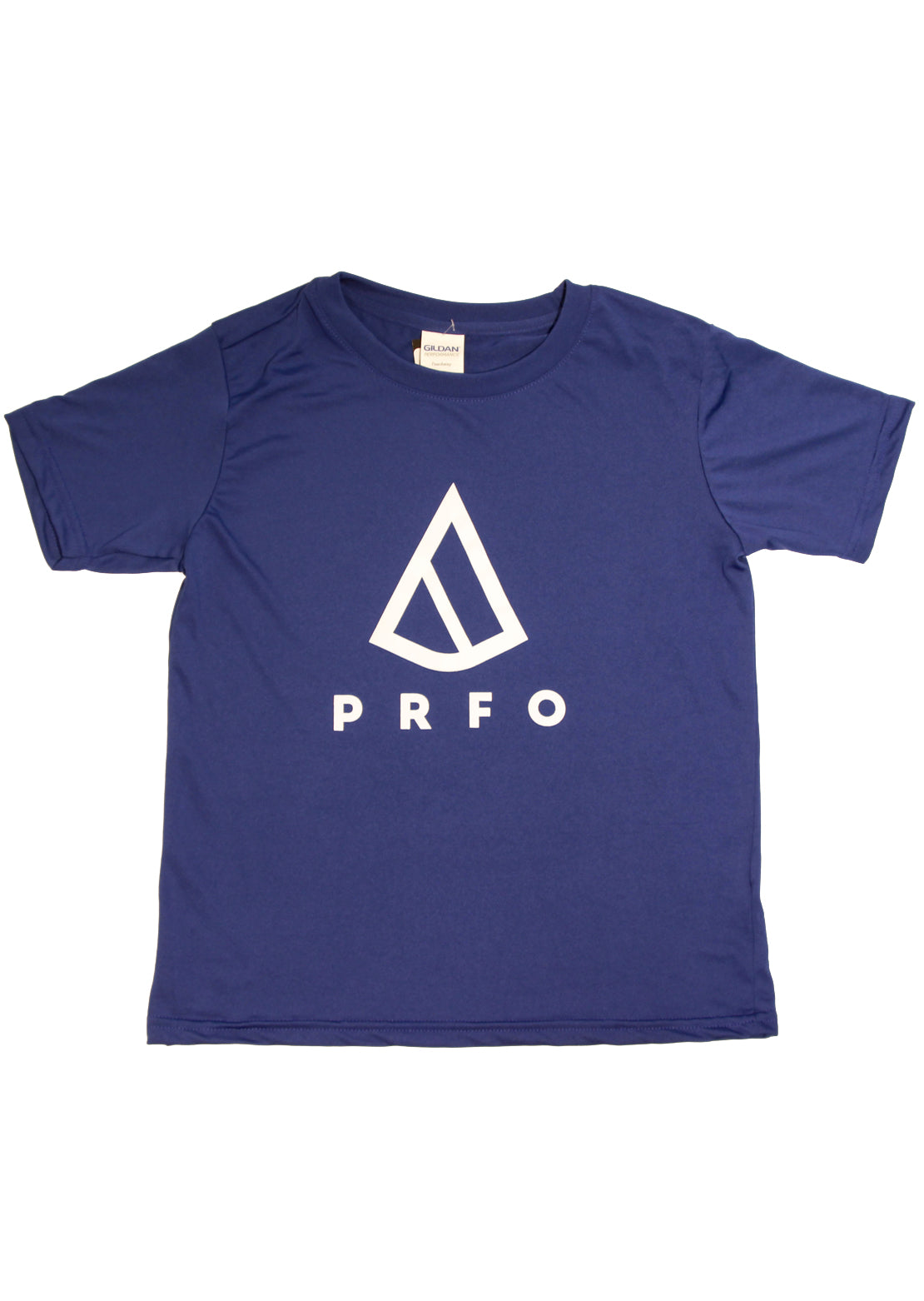 PRFO Junior Icon High Performance T-Shirt Royal/White