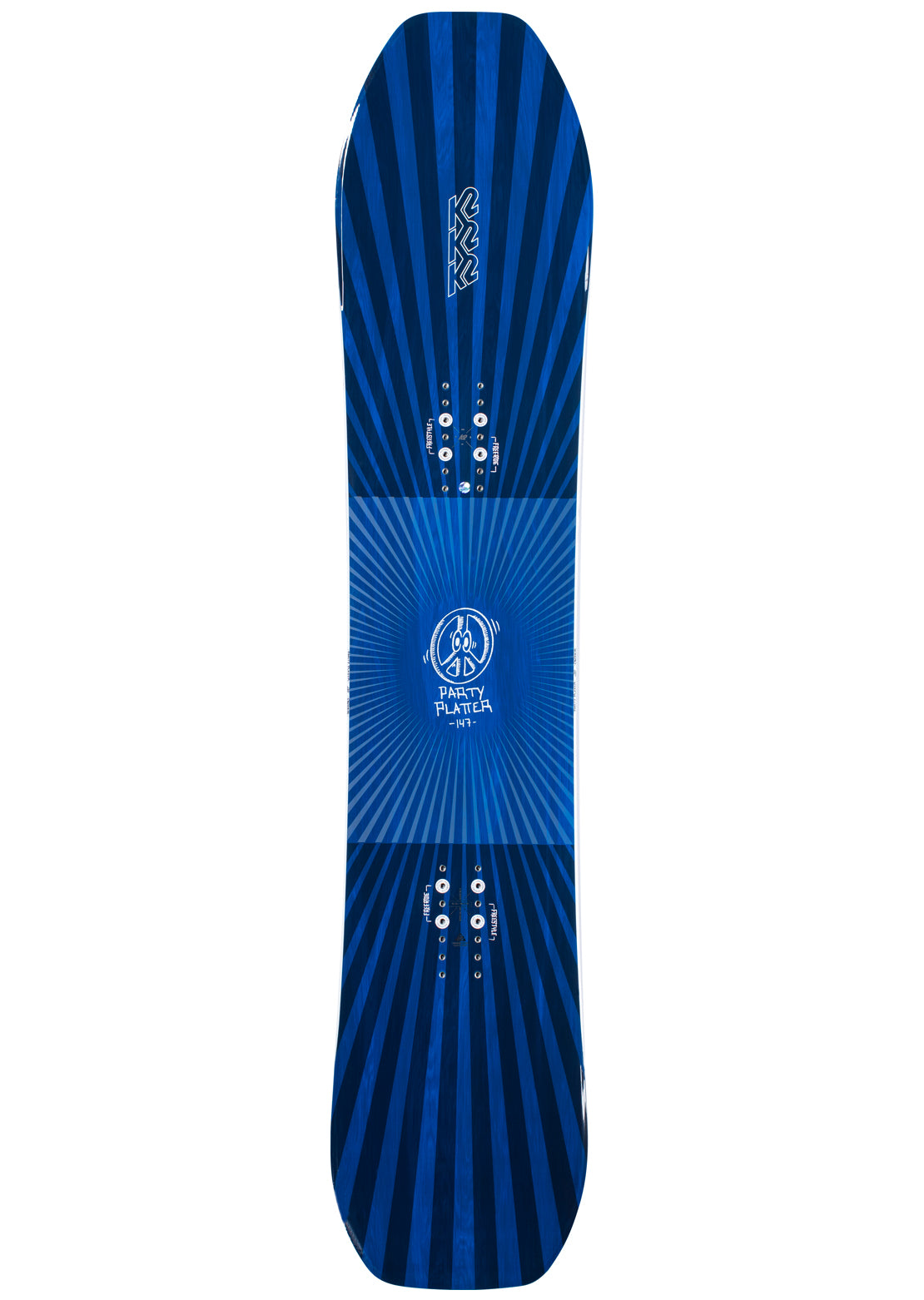 K2 Men's Party Platter Snowboard - 157 cm Multi