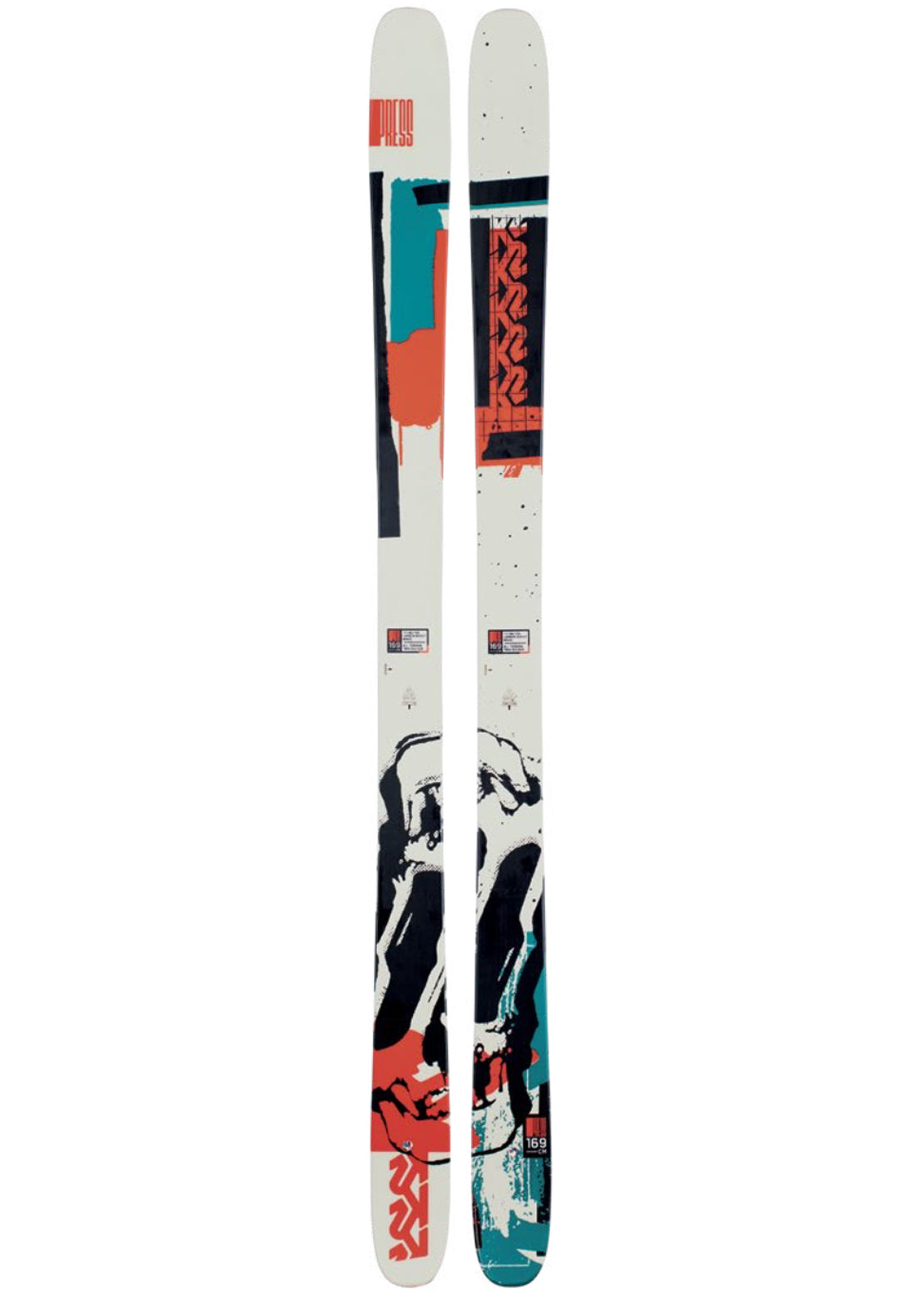 K2 Men's Press Ski - 159 cm Multi