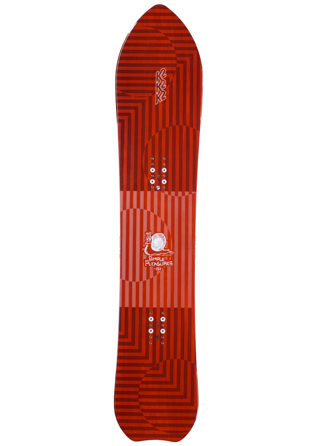K2 Men's Simple Pleasures Snowboard - 156 cm Multi