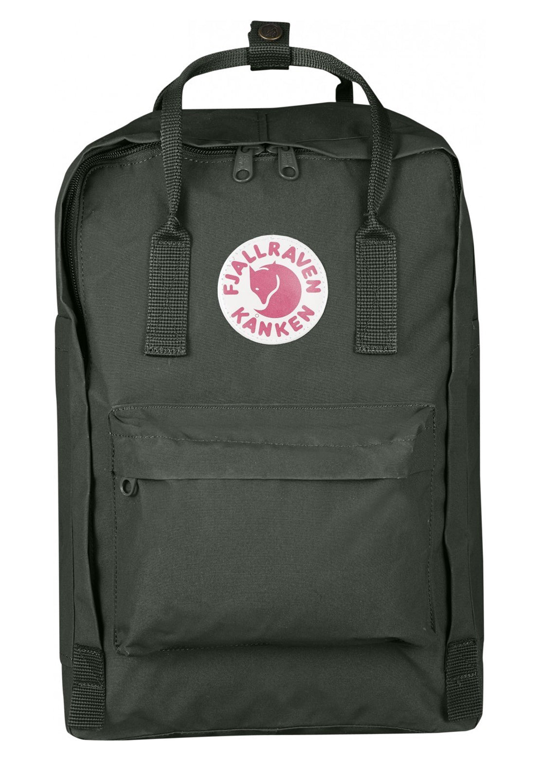 "Fjallraven Kanken Laptop 15"" Backpack Forest Green"