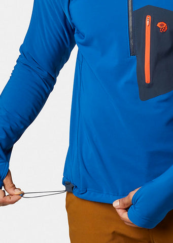 Mountain Hardwear Men's Keele Pullover Nightfall Blue