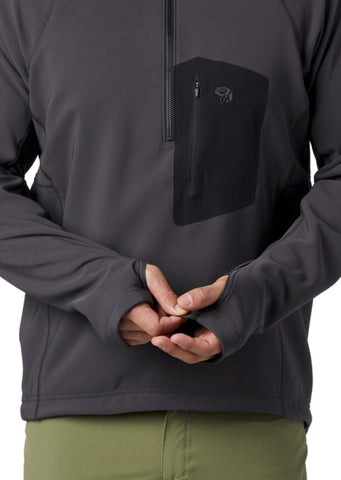 Mountain Hardwear Men's Keele Pullover Void