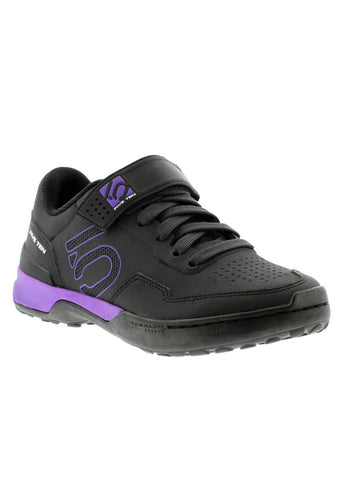 Five Ten Women's Kestrel Lace Clipless Mountain Bike Shoes Black/Purple