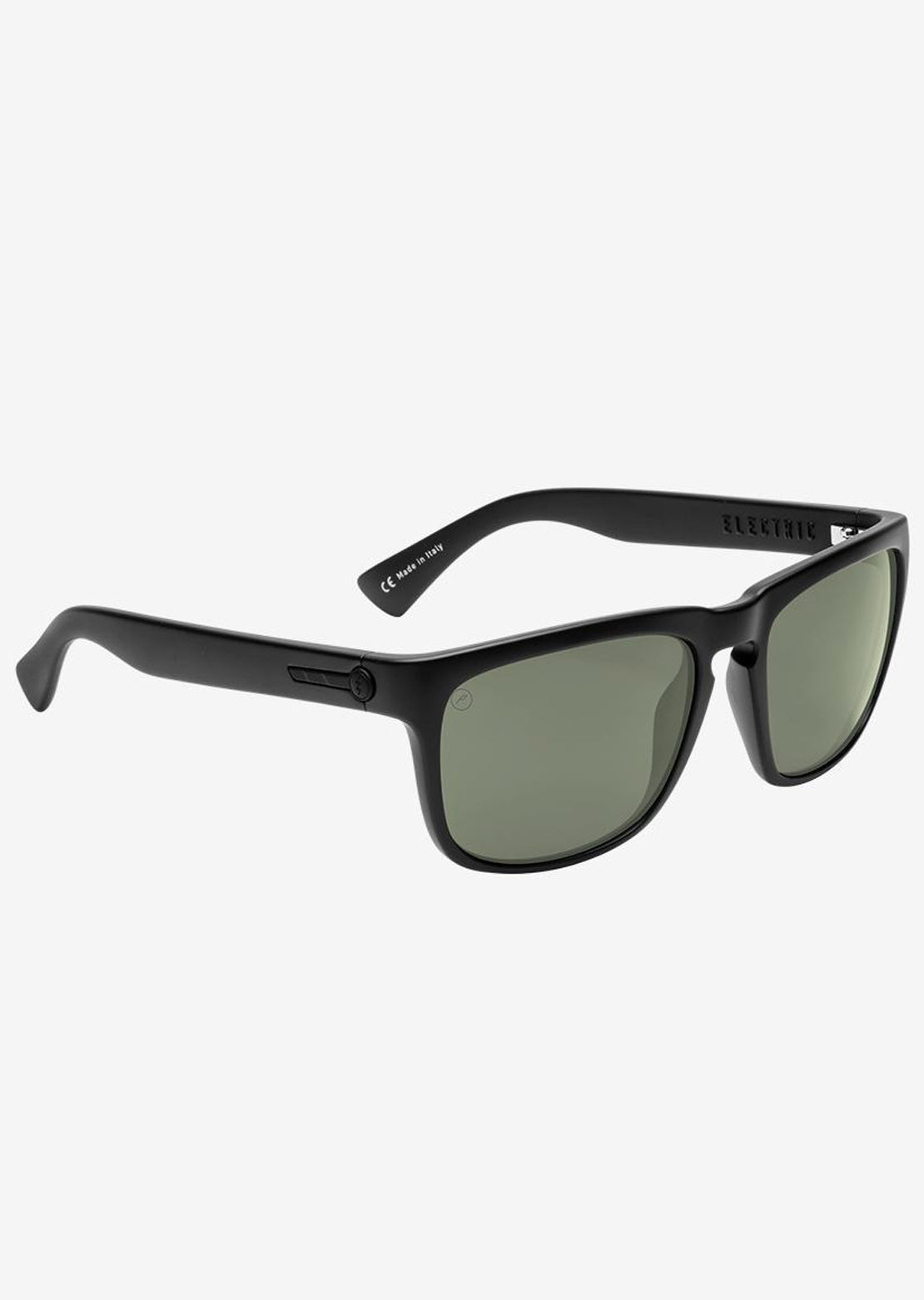 Electric Men's Knoxville Sunglasses Matte Black/Grey