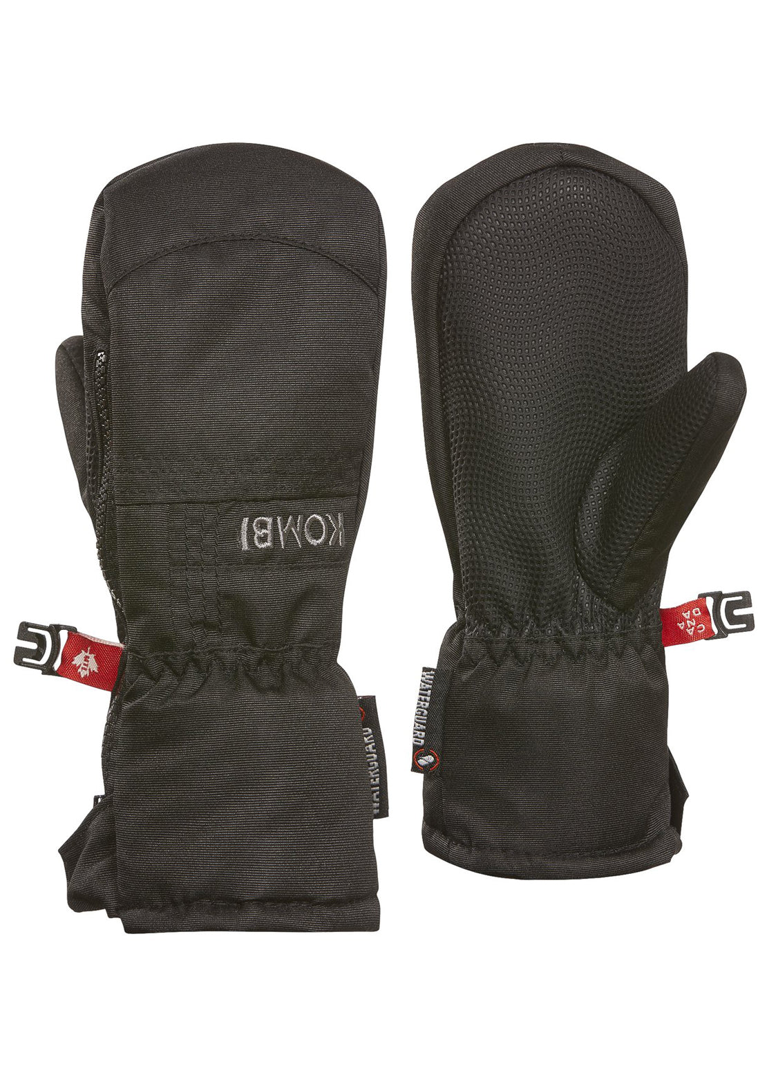 Kombi Junior Toddler Micro Pee Wee Mitt Black