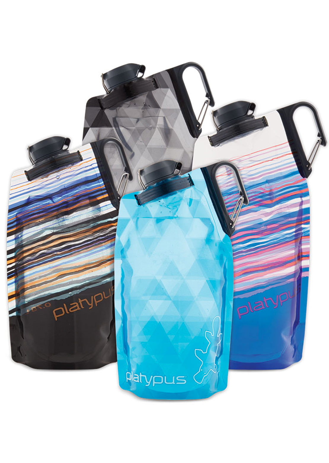 Platypus DuoLock Soft Bottle Blue Skyline