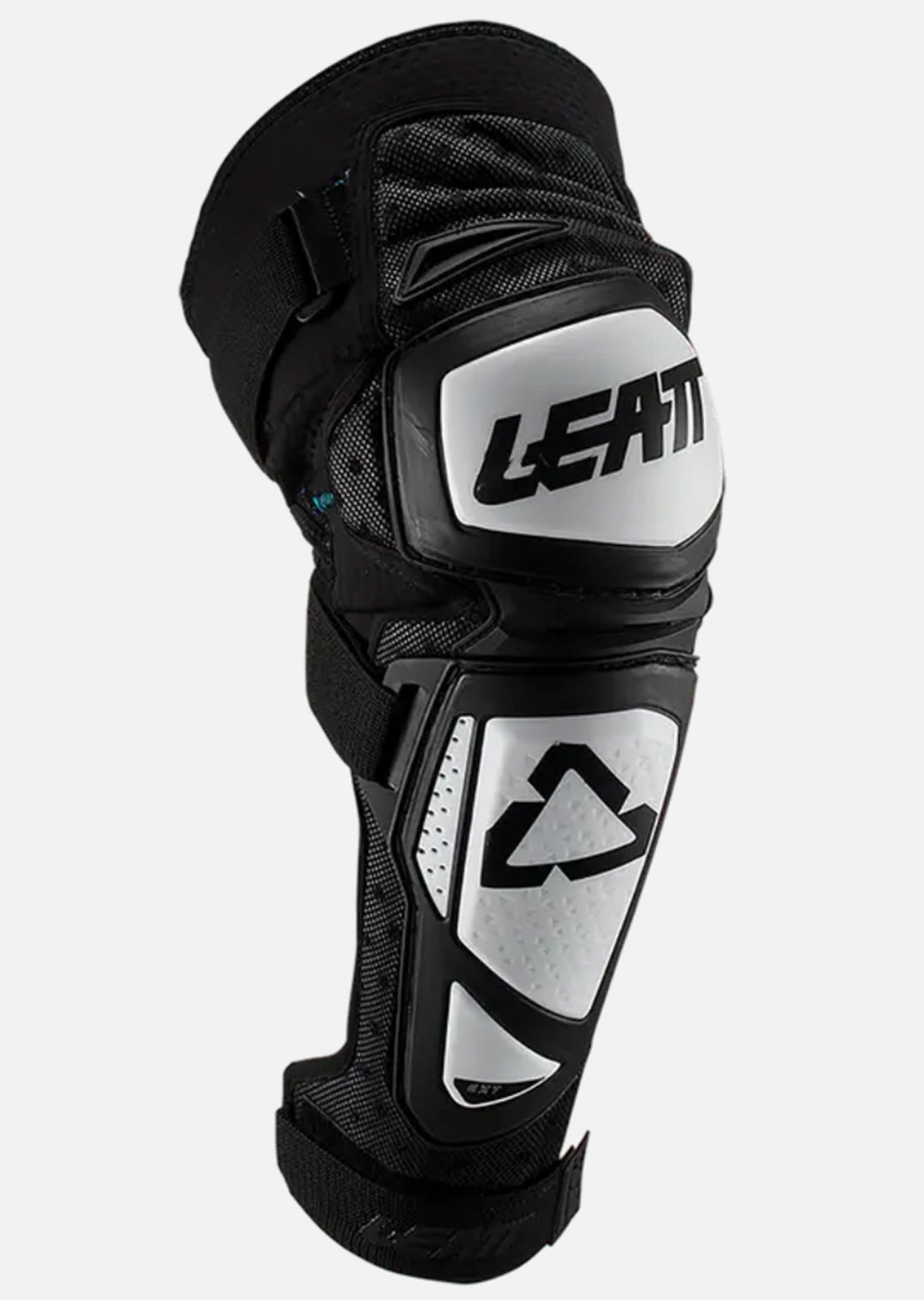 Leatt Junior Knee & Shin EXT Guards Black/White
