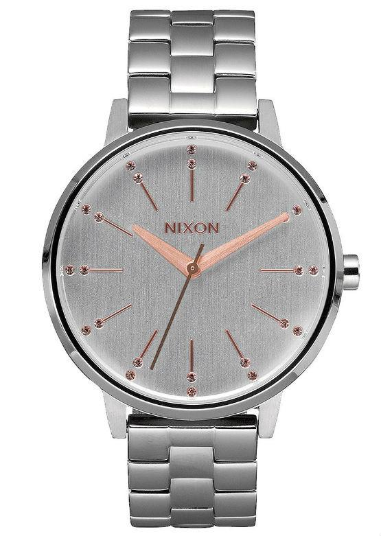 Nixon Women's Kensington - Silver/Light Gold Crystal