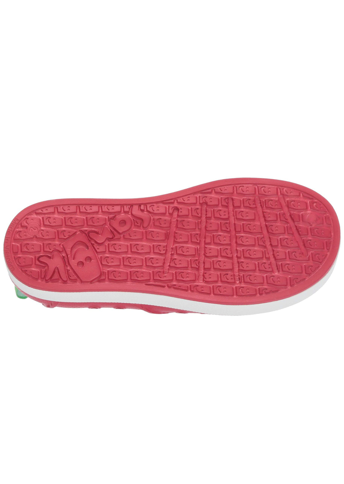 Sanuk Junior Lil Walker Shoes Red/White