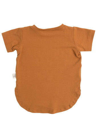 Little Yogi Junior Cooper T-Shirt (Cooper) Copper