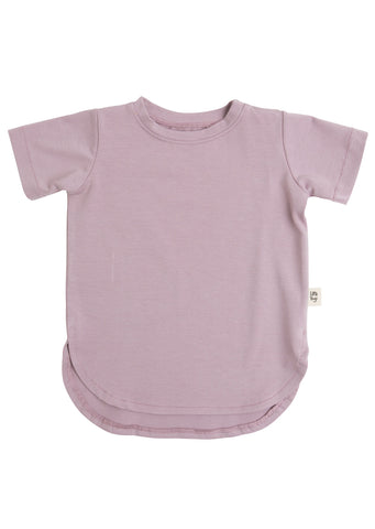 Little Yogi Junior Sea Fog T-Shirt Mauve