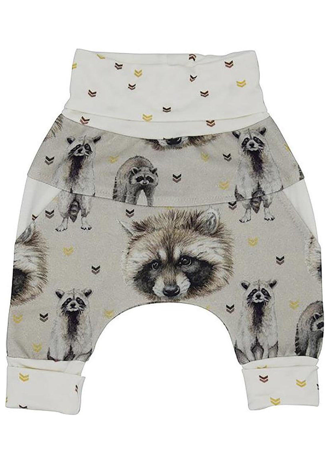 Little Yogi Toddler Harem Little Raccoon Pants