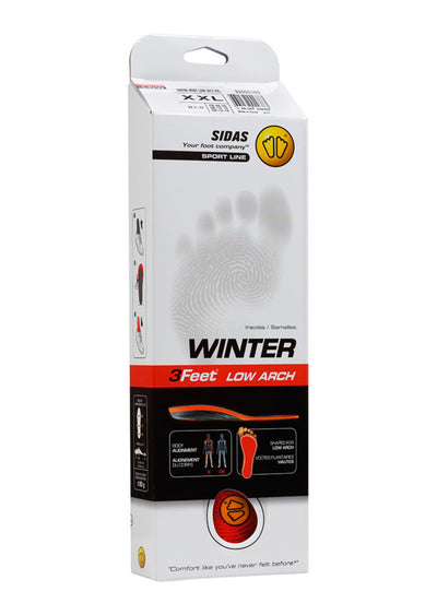 Sidas Winter 3 Feet Low Insoles
