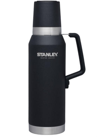 Stanley Master Vacuum Bottle 1.4 QT - Foundry Black
