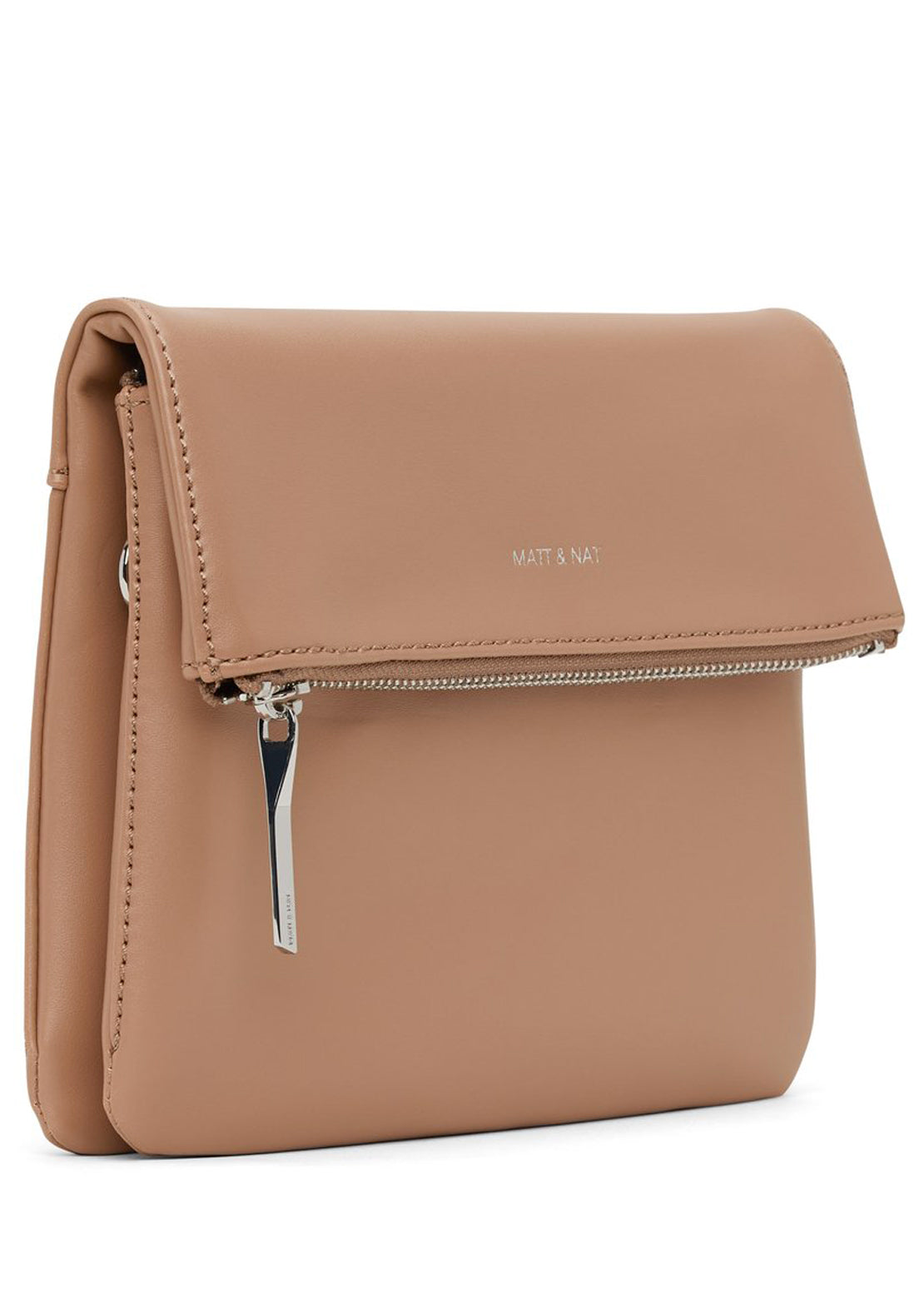 Matt & Nat Hiley Loom Crossbody Bag Cafe