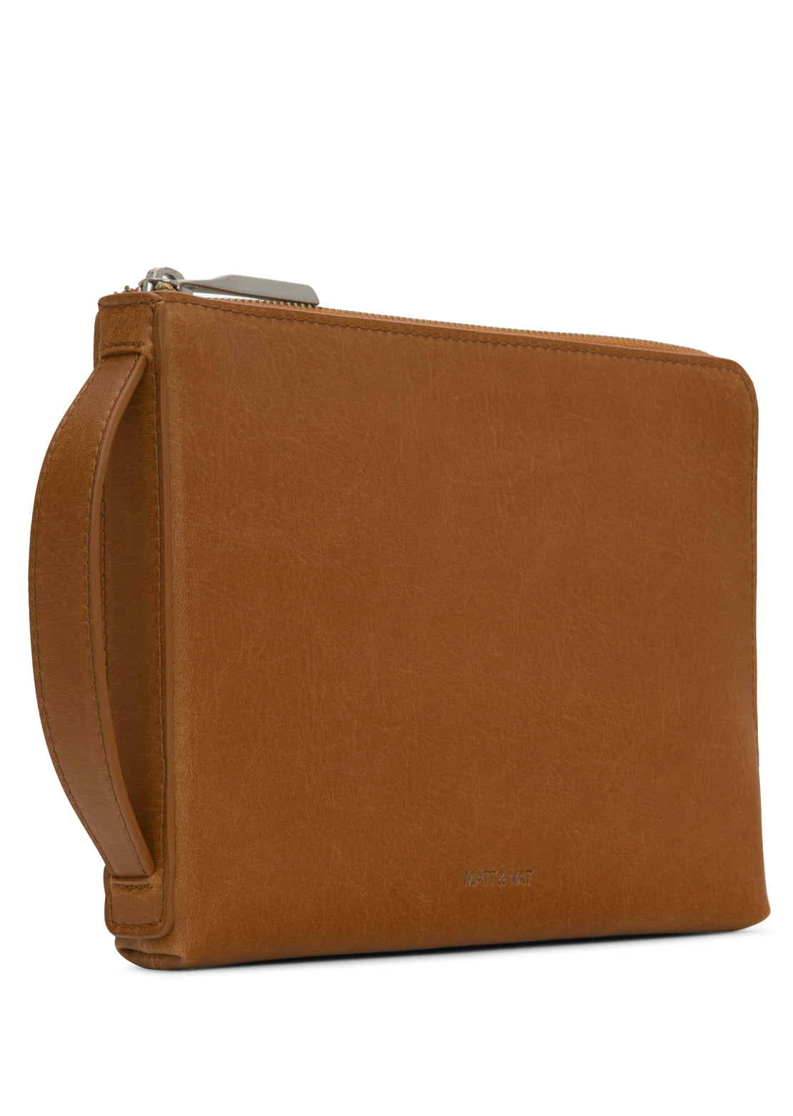 Matt & Nat Seva Large Vintage Wallet Chili Matte Nickel