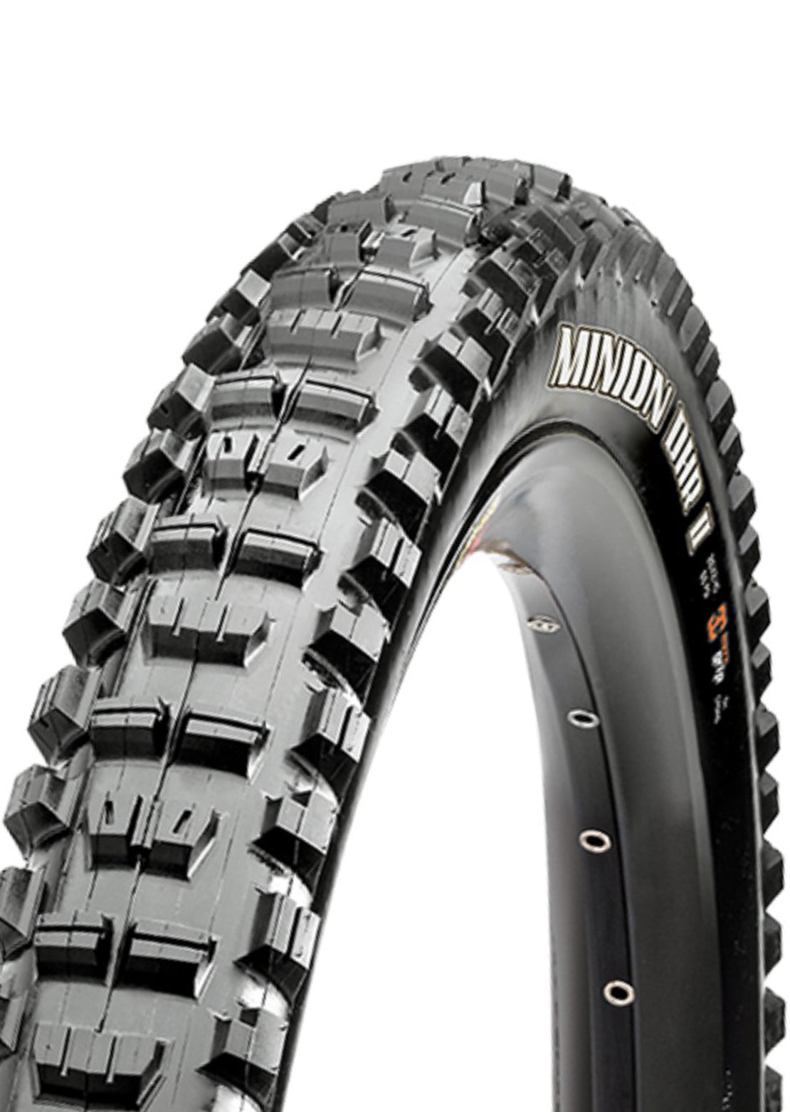 "Maxxis Minion DHR II 3C Maxx Terra F60TPI Mountain Bike Tires - 26"" x 2.4"" Black"