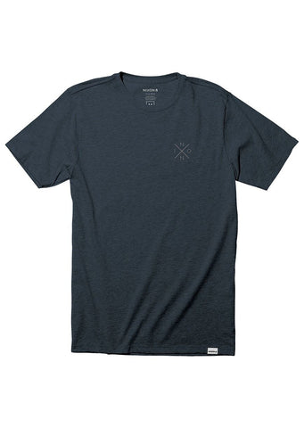 Nixon Men's Spot II T-Shirt Navy Heather