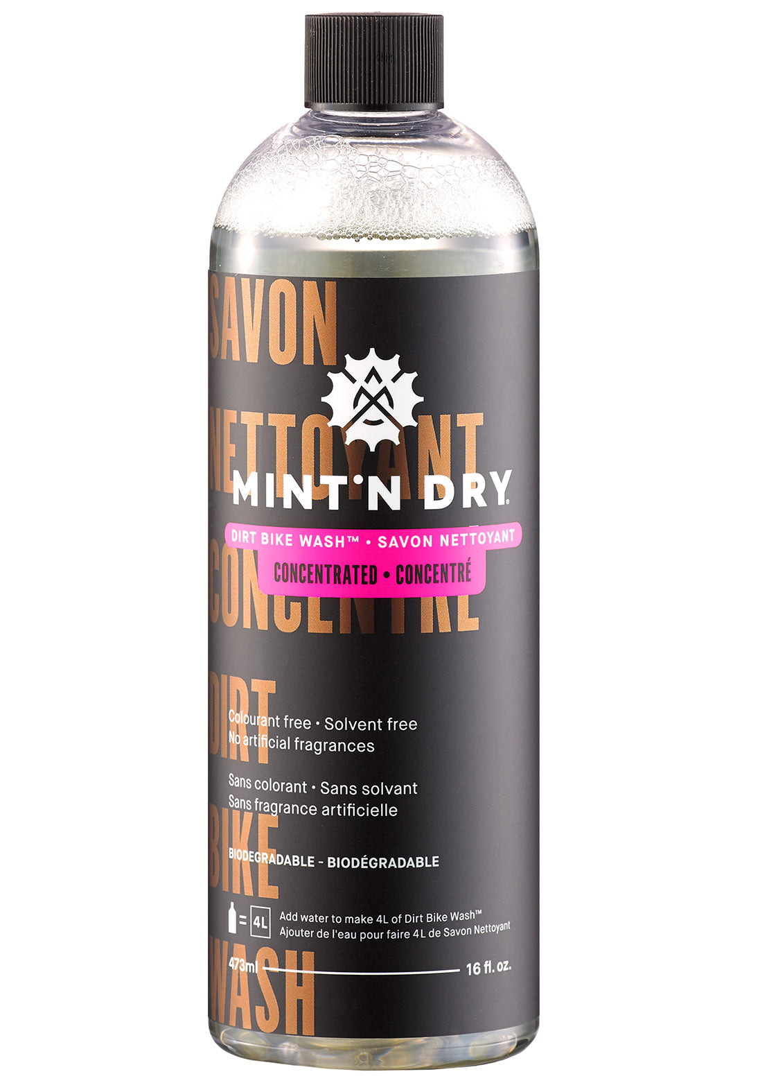 Mint'N Dry Concentrated Mud Bike Cleaner 473 ml