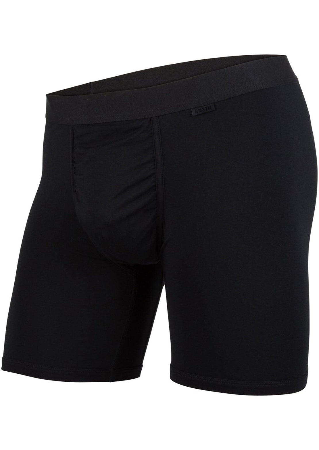 BN3TH Men's Modal Solid Brief Boxer Black/Black