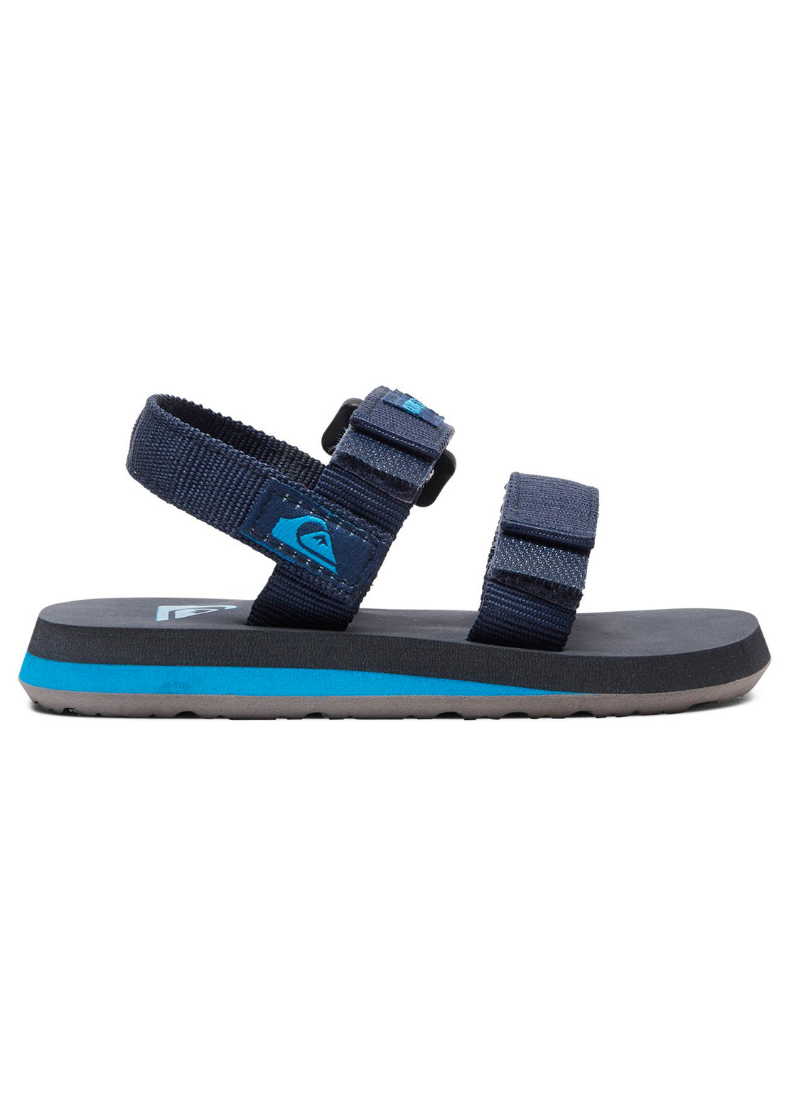 Quiksilver Junior Toddler Monkey Caged Sandals Blue/Grey/Blue