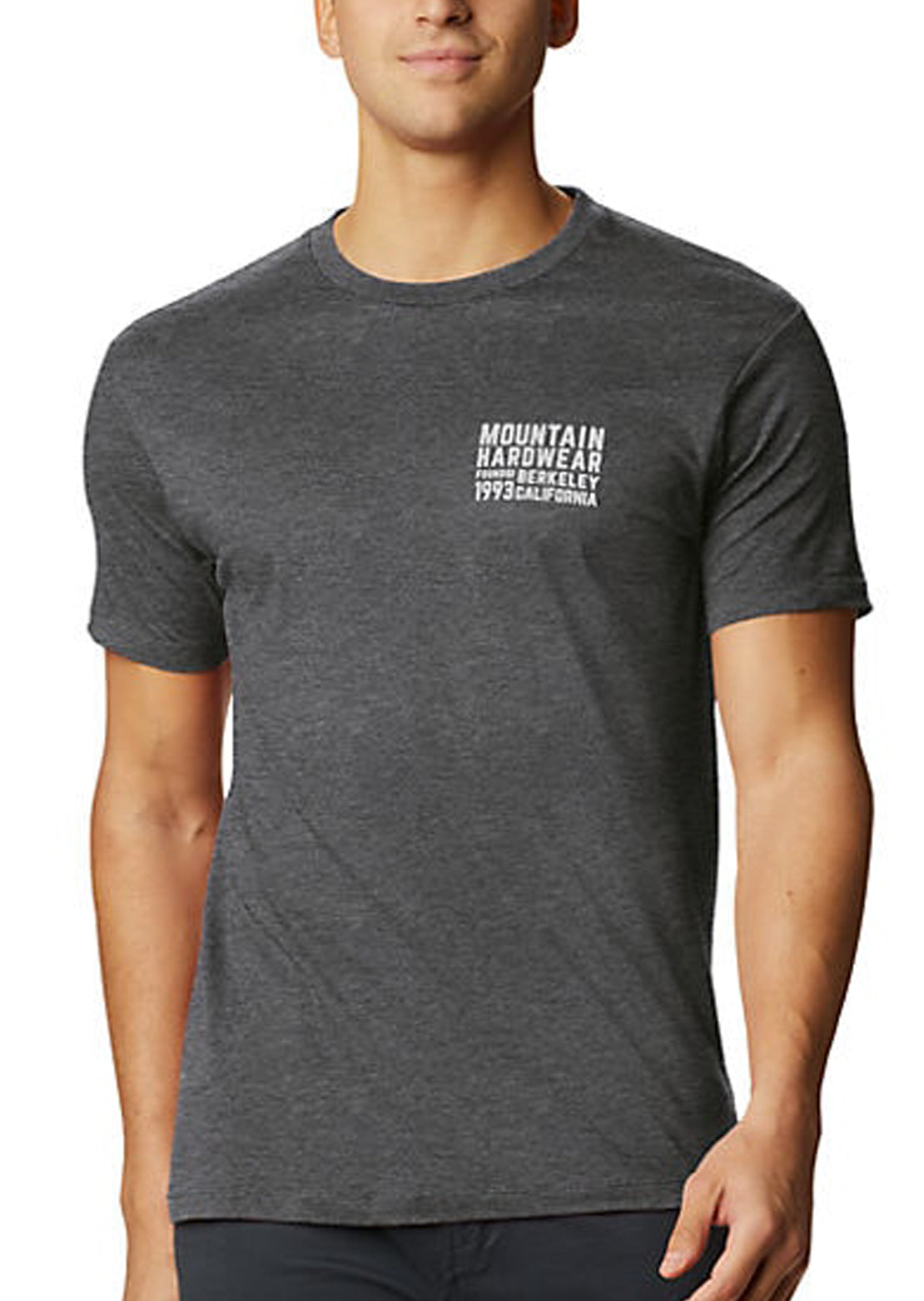 Mountain Hardwear Men's Berkeley 93 T-Shirt Heather Black