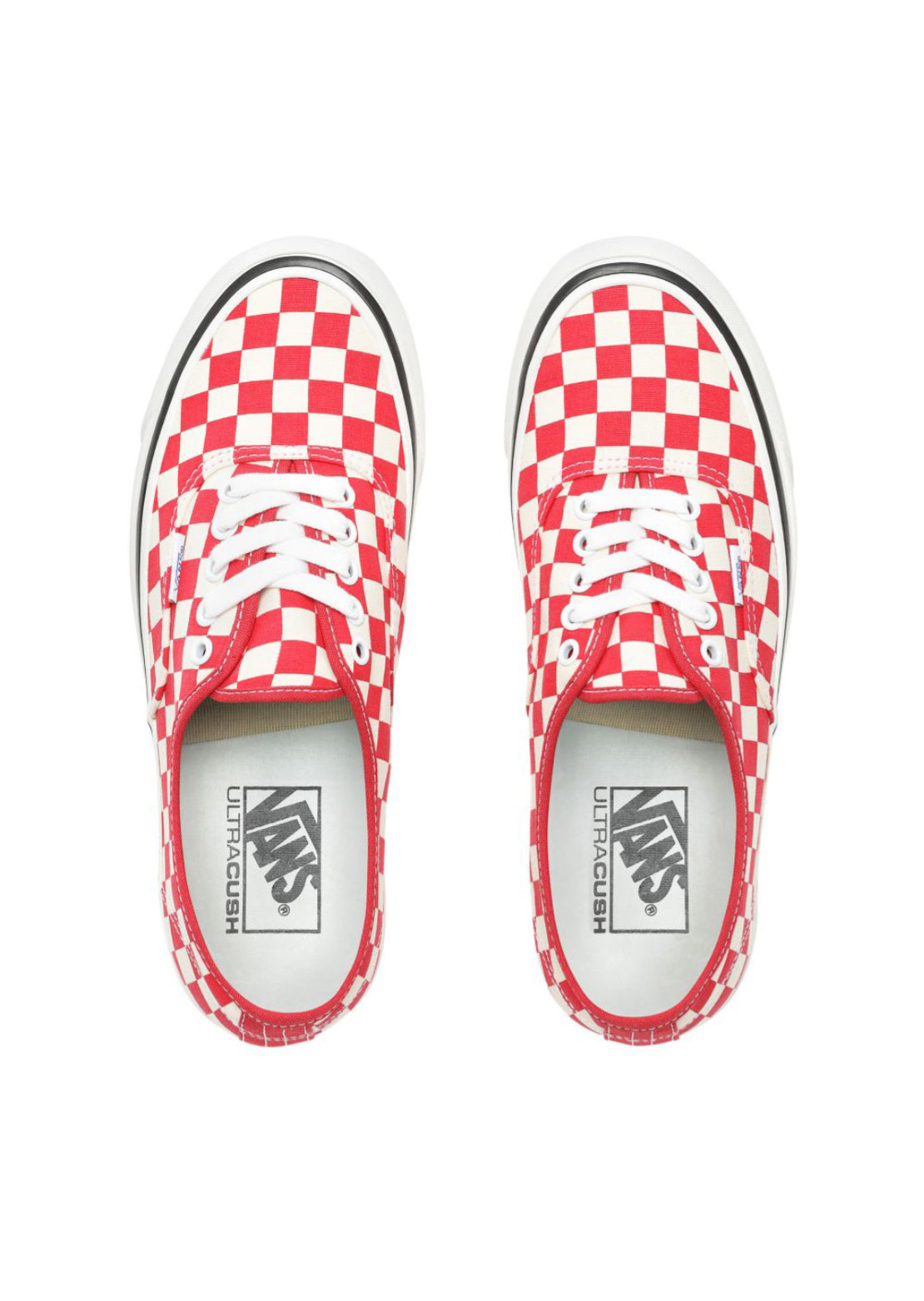 Vans Women's Anaheim Factory Authentic 44 DX Shoes OG Red/Check