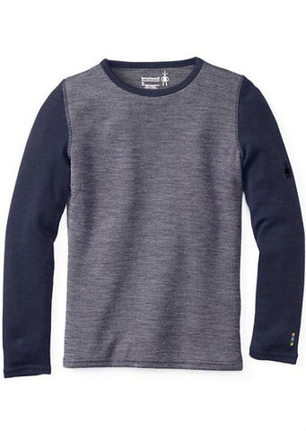 Smartwool Junior Kids Merino 250 Crew - Deep Navy