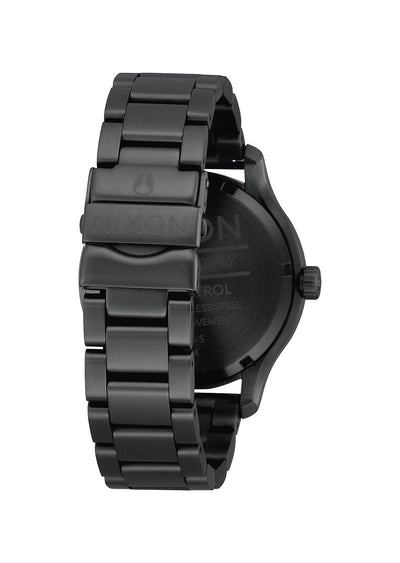Nixon Men's Patrol Watch Black/Silver