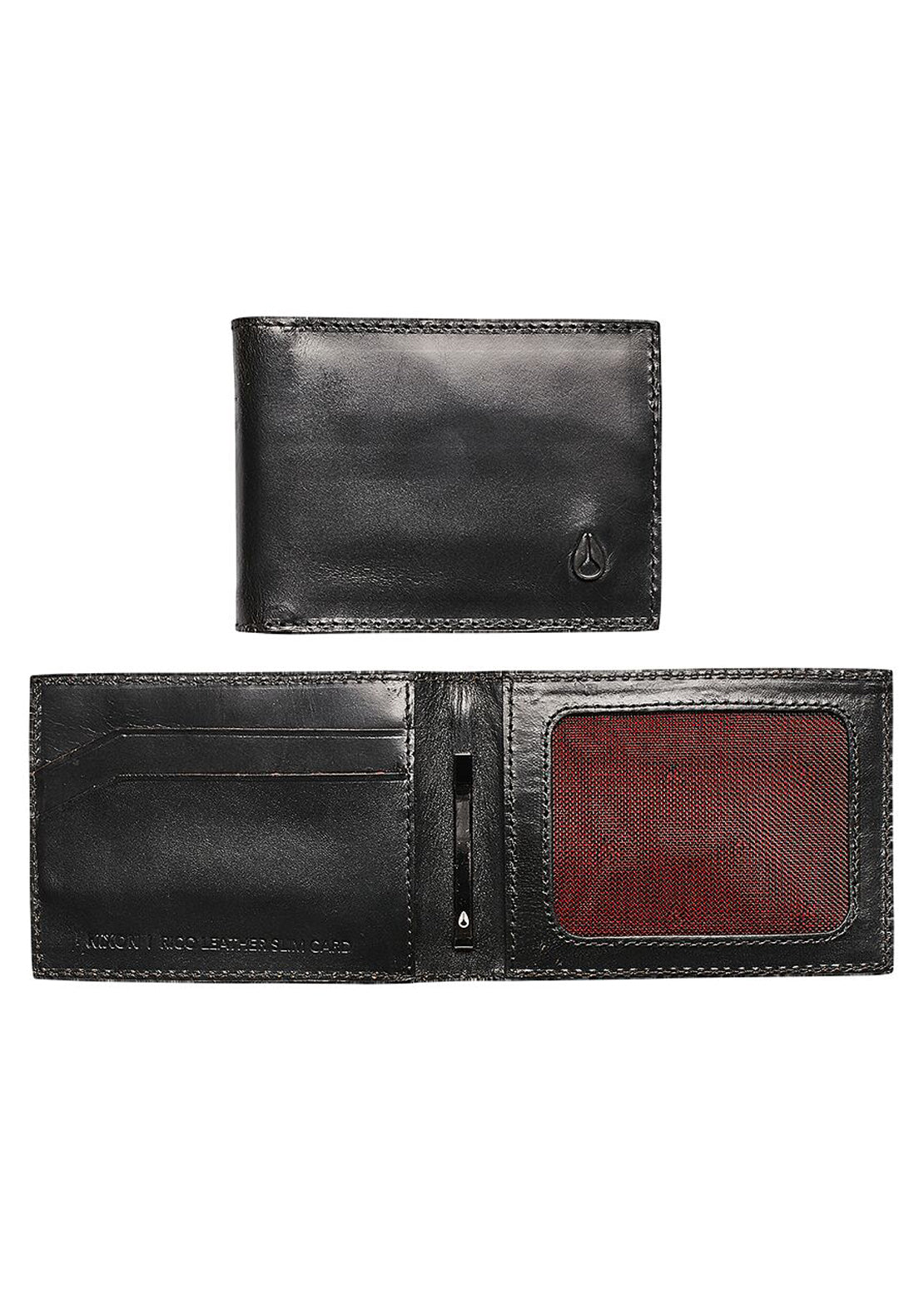 Nixon Men's Rico Slim Card Wallet Black