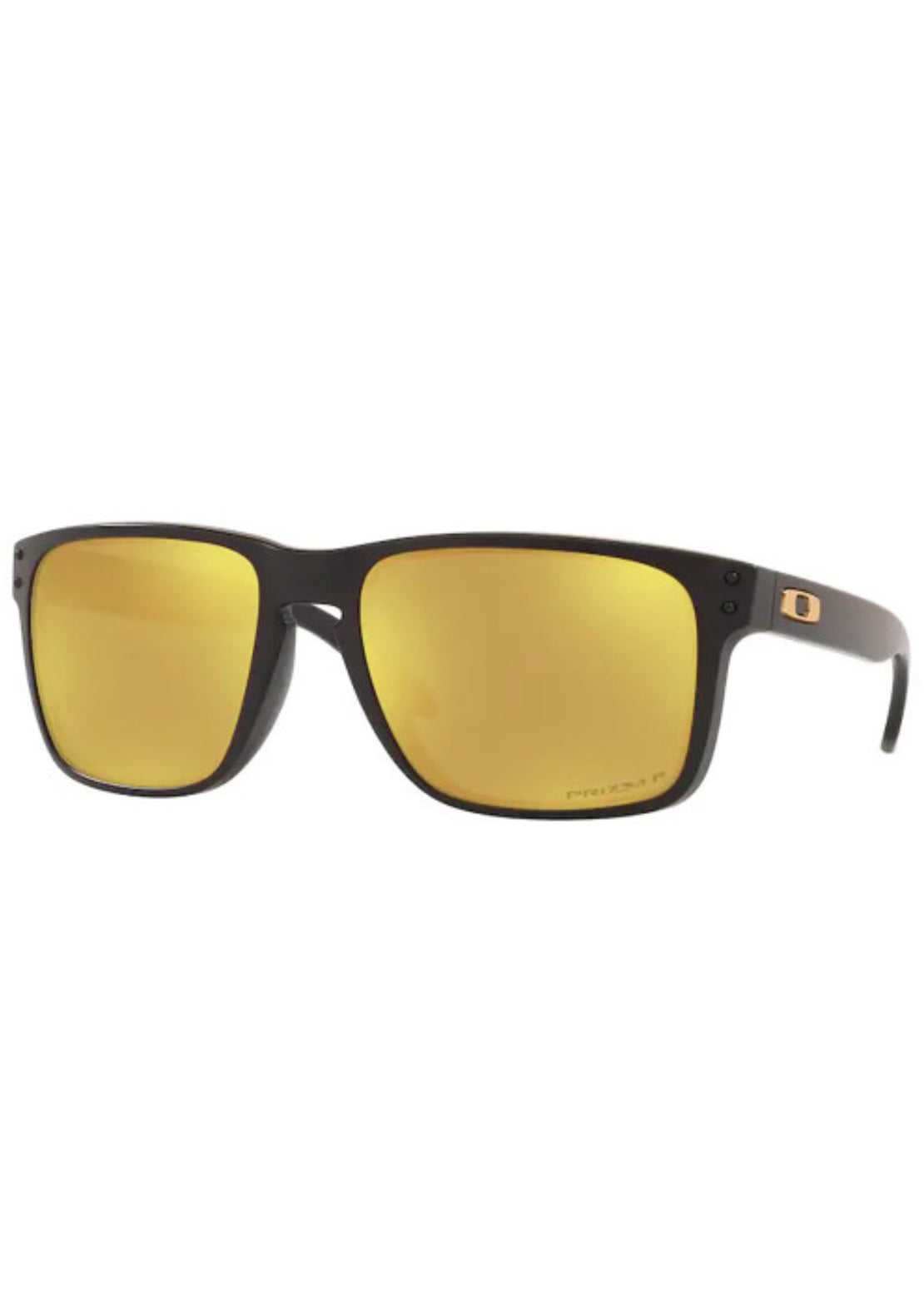 Oakley Men's Holbrook XL Prizm Polarized Sunglasses Matte Black/Prizm 24K Iridium Polarized