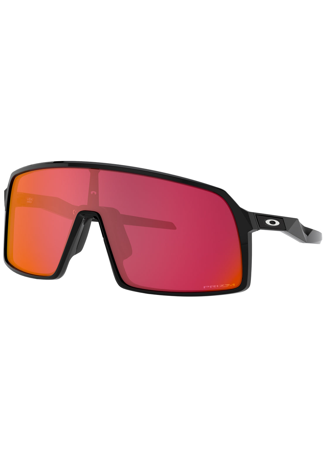 Oakley Sutro Prizm Bike Sunglasses Polished Black/Prizm Snow Torch Iridium