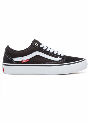 Vans Men's Old Skool Pro Shoes Black/White