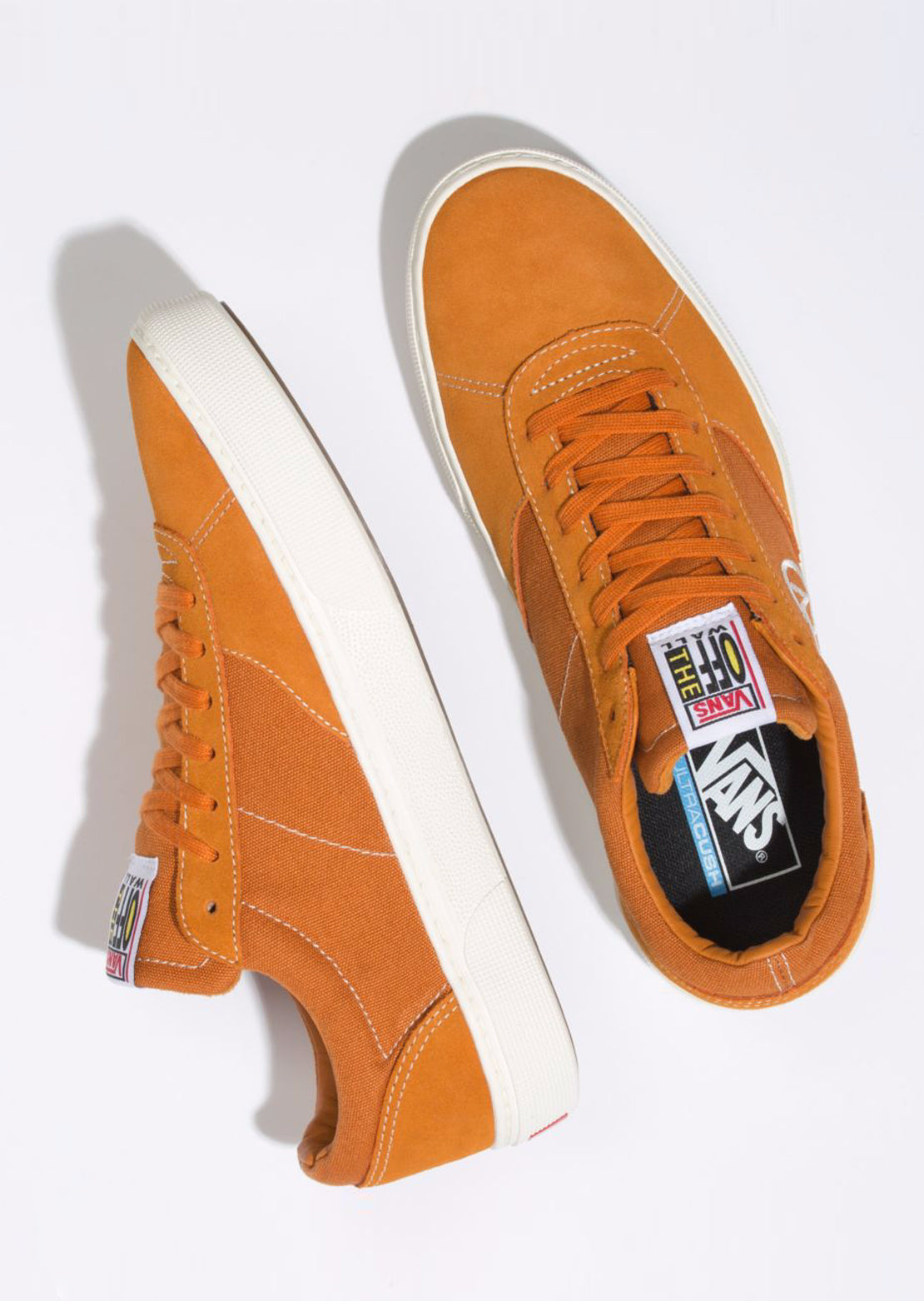 Vans Men's Paradoxxx Shoes Golden Oak/Marshmallow