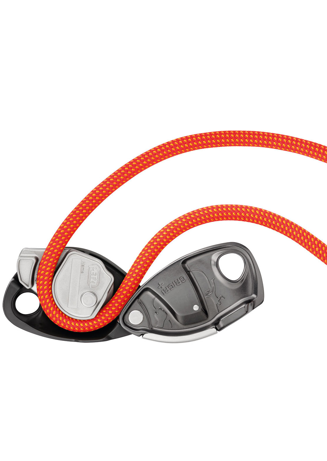 Petzl Grigri+ Belay Device Gray