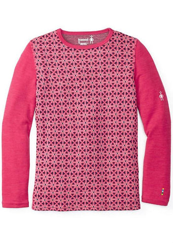 Smartwool Junior Kids Merino 250 Crew - Potion Pink